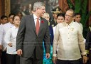 Prime Minister Stephen Harper announced new initiatives to promote economic growth in the Philippines
